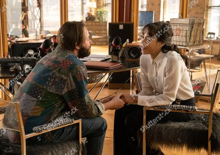 Stock Photo of Vincent Kartheiser as Bodie Quick and Nikki M. James as Violet Bell
