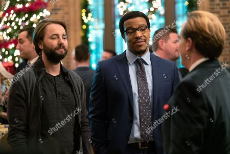 Stock Image of Vincent Kartheiser as Bodie Quick and Russell Hornsby as Ezekiel 'Easy' Boudreau