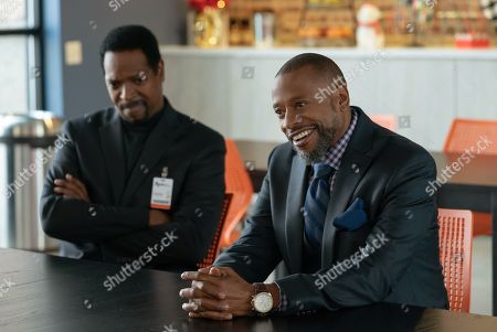 Stock Photo of James Vincent Meredith as Tyler Lauten and Sherman Augustus as Troy Dalton