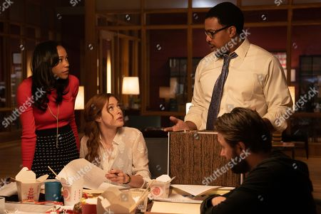 Nikki M. James as Violet Bell, Rachelle Lefevre as Madeline Scott, Russell Hornsby as Ezekiel 'Easy' Boudreau and Vincent Kartheiser as Bodie Quick
