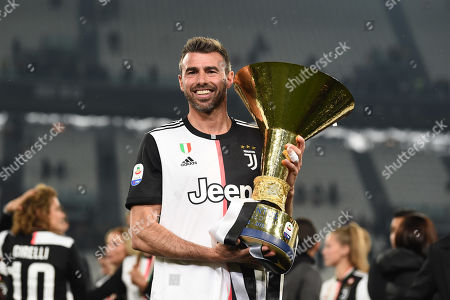 Stock Picture of Andrea Barzagli (Juventus)