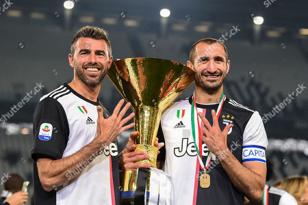 Andrea Barzagli (Juventus), Giorgio Chiellini (Juventus)