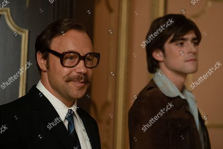 Stephen Graham as Dick James and Charlie Rowe as Ray Williams