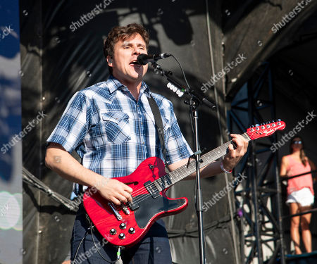 Jim Adkins performs at Hangout Music Festival.