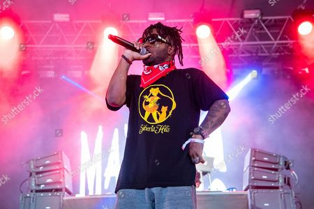 MadeinTYO performs at Hangout Music Festival.