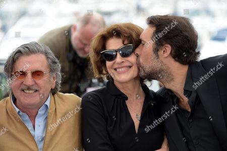 Nicolas Bedos, Daniel Auteuil, Fanny Ardant