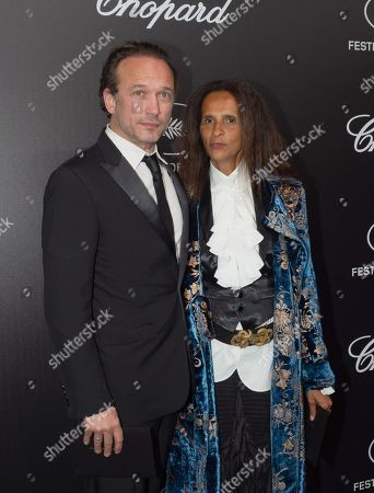 Vincent Perez and Karine Silla