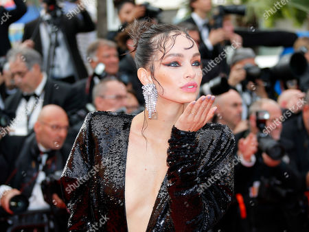 Luma Grothe at the screening of 'Once Upon a Time in Hollywood'