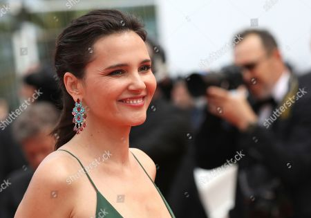 Virginie Ledoyen poses for photographers upon arrival at the premiere of the film 'Once Upon a Time in Hollywood' at the 72nd international film festival, Cannes, southern France