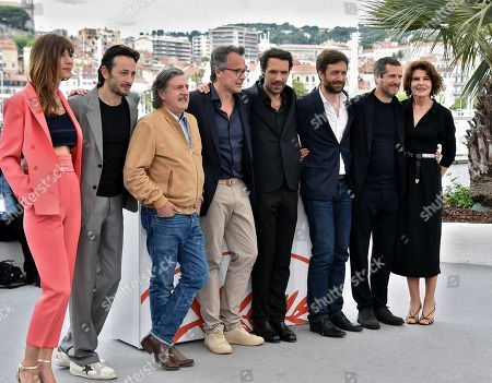 Doria Tillier, Michael Cohen, Daniel Auteuil, Francois Kraus, Nicolas Bedos, Denis Pineau-Valencienne, Guillaume Canet and Fanny Ardant
