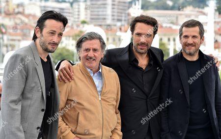 Michael Cohen, Daniel Auteuil, Nicolas Bedos and Guillaume Canet