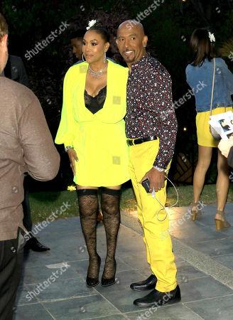 Vivica A. Fox and Montel Williams