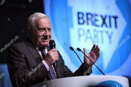 Editorial photo of Brexit Party rally, London, UK - 21 May 2019