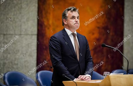 Editorial image of Netherlands Secretary of State Harbers quits over asylum seeker crime statistics, The Hague - 21 May 2019