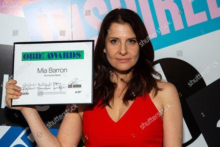 Stock Photo of Mia Barron