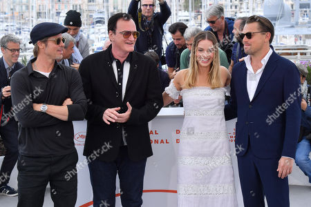 Editorial photo of 'Once Upon A Time in Hollywood' photocall, 72nd Cannes Film Festival, France - 22 May 2019