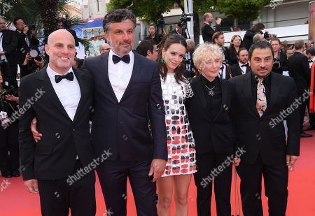 Catalin Mitulescu, Panos H. Koutras, Stacy Martin, Clarie Denis and Eran Kolirin