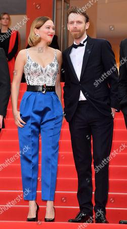Lea Seydoux and Antoine Reinartz