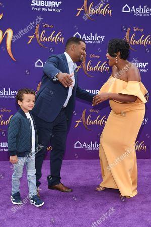 Editorial photo of 'Aladdin' film premiere, Arrivals, El Capitan Theatre, Los Angeles, USA - 21 May 2019