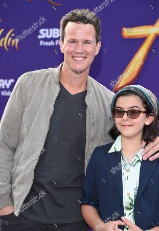 Scott Weinger and Mischa Weinger