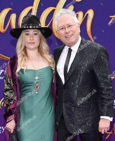 Anna Rose and Alan Menken