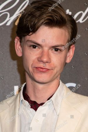 Thomas Brodie-Sangster poses for photographers upon arrival at the Chopard Gentlemen evening at the 72nd international film festival, Cannes, southern France
