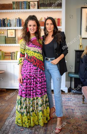 Stock Image of Rosanna Falconer, and Lily Fortescue