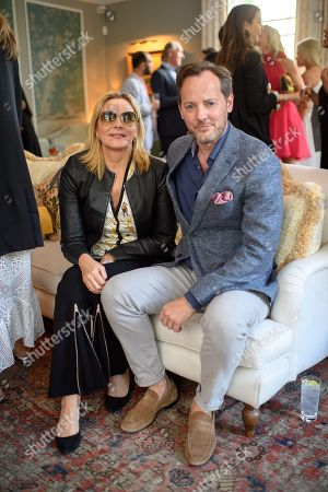 Kim Cattrall and Russell Thomas