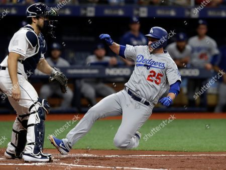 Editorial photo of Dodgers Rays Baseball, St. Petersburg, USA - 21 May 2019