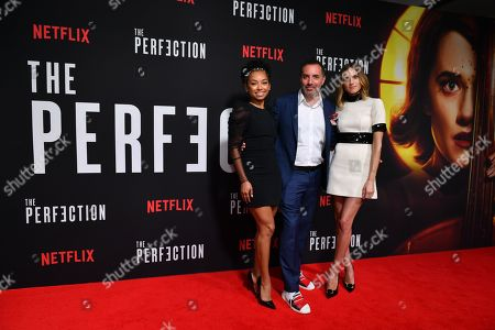 Logan Browning, Richard Shepard and Allison Williams