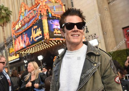 "Johnny Knoxville arrives at the premiere of ""Aladdin"", at the El Capitan Theatre in Los Angeles"
