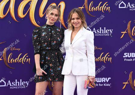 "Candace Cameron Bure, Natasha Bure. Candace Cameron Bure, right, and her daughter Natasha Bure arrive at the premiere of ""Aladdin"", at the El Capitan Theatre in Los Angeles"