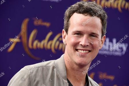 "Stock Image of Scott Weinger arrives at the premiere of ""Aladdin"", at the El Capitan Theatre in Los Angeles"