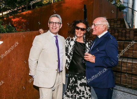 Andy Cohen, Diane von Furstenberg, Barry Diller