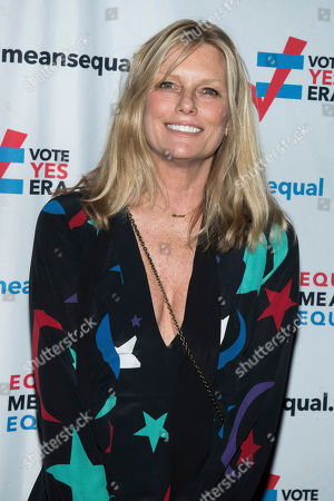 Patti Hansen attends the Equal Means Equal campaign for equal rights launch at The Times Square Edition, in New York