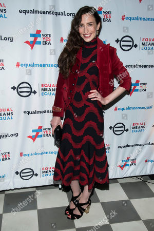 Elizabeth Jagger, Elizabeth. Elizabeth Jagger attends the Equal Means Equal campaign for equal rights launch at The Times Square Edition, in New York