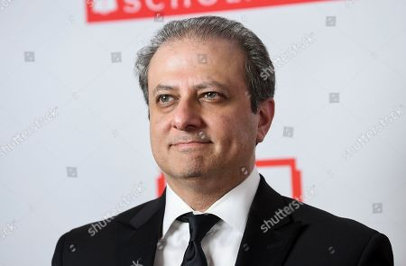 Stock Photo of Former United States Attorney for the Southern District of New York and author Preet Bharara attends the 2019 PEN America Literary Gala at the American Museum of Natural History, in New York