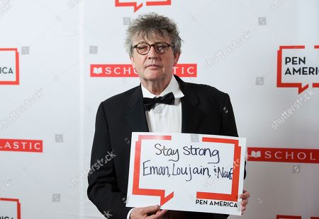 Stock Image of Poet Paul Muldoon attends the 2019 PEN America Literary Gala at the American Museum of Natural History, in New York