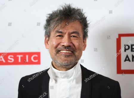 Playwright David Henry Hwang attends the 2019 PEN America Literary Gala at the American Museum of Natural History, in New York