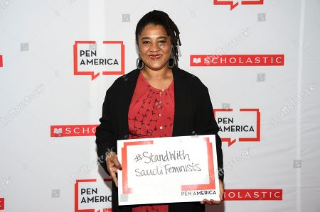 Lynn Nottage attends the 2019 PEN America Literary Gala at the American Museum of Natural History, in New York