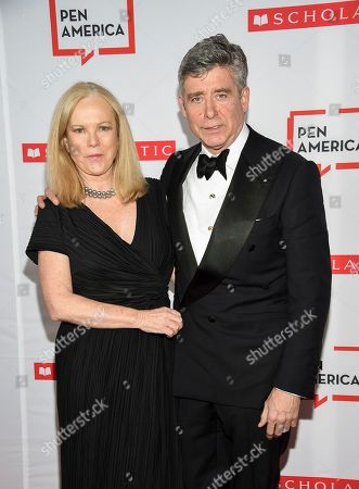 Anne Randolph Hearst, Jay McInerney. Author Jay McInerney, right, and wife Anne Randolph Hearst attend the 2019 PEN America Literary Gala at the American Museum of Natural History, in New York