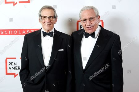 Robert Caro, Bob Woodward. Author Robert Caro, left, and PEN literary award recipient Bob Woodward pose together at the 2019 PEN America Literary Gala at the American Museum of Natural History, in New York