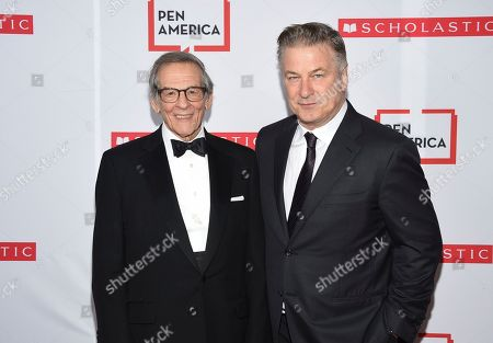 Robert Caro, Alec Baldwin. Author Robert Caro, left, and actor Alec Baldwin pose together at the 2019 PEN America Literary Gala at the American Museum of Natural History, in New York