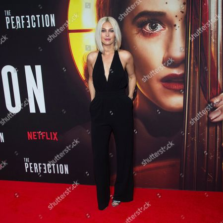 "Alaina Huffman attends a special screening of Netflix's ""The Perfection"" at Metrograph, in New York"