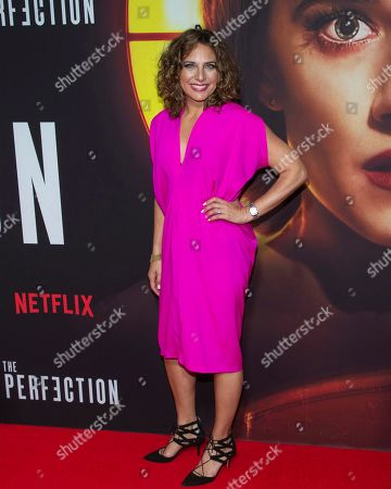 """Stacey Reiss attends a special screening of Netflix's """"The Perfection"""" at Metrograph, in New York"""