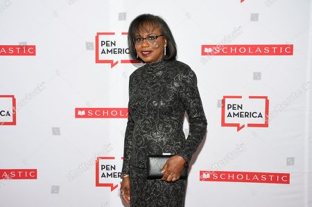 PEN courage award recipient Anita Hill attends the 2019 PEN America Literary Gala at the American Museum of Natural History, in New York