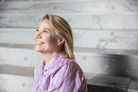 Editorial picture of Trine Dyrholm photocall, Stockholm, Sweden - 25 Apr 2019