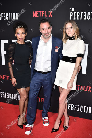 Logan Browning, Richard Shepard, Allison Williams