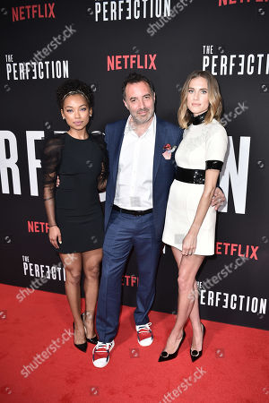 Stock Image of Logan Browning, Richard Shepard, Allison Williams