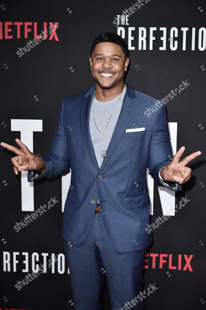 Editorial photo of 'The Perfection' film screening, Arrivals, New York, USA - 21 May 2019